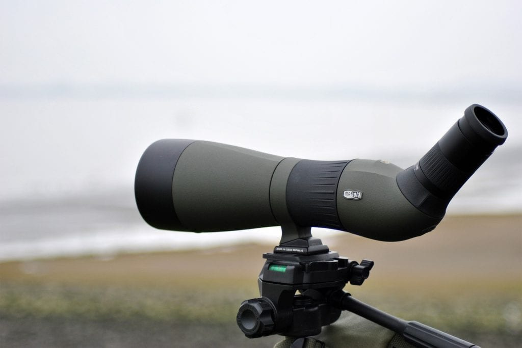 a high-end spotting scope